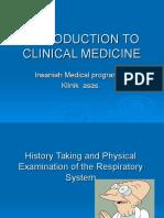 History and Physical Examination RS