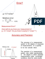 Error Analysis 2015