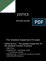 Justice Sandel
