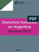 CELS Informe Derechos Humanos en Argentina 2012.pdf