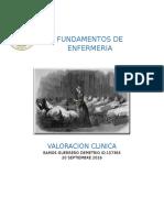 Valoracion Clinica Resumen