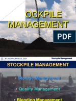 Stockpile Management