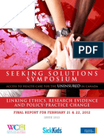 Seeking Solutions Report