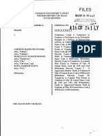 Chimene Hamilton Onyeri indictment