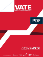 APICS 2016 Conference