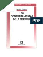 Jacques Hassoun Los Contrabandistas de La Memoria