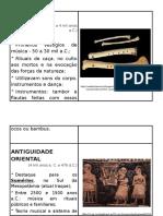 Cartaz Musica Antiguidade