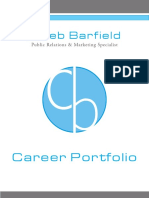 Caleb Barfield's Career Portfolio