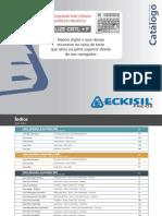 Catalogo Completo Catraca ECKISIL