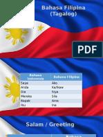 Filipina (Tagalog)