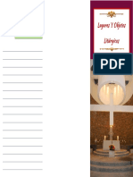 folleto objetos liturgicos