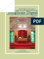 The Anglican Digest - Autumn 2016