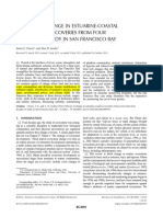 DRIVERS OF CHANGE IN ESTUARINE-COASTAL ECOSYSTEMS