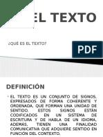EL TEXTO (2)