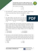 SOAL PILIHAN GANDA SD (Babak Penyisihan) Proses Layout A4 FIX