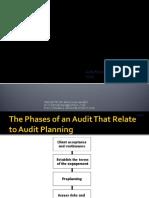 Audit Planning and Audit Tests