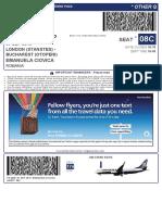 RyanairBoardingPass HIZGFF OTP STN
