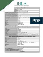 ILA Partner Identification Form