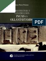 Arquitectura y construcción inca en ollantaitambo