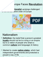 European Nationalism