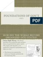 Foundations of Govt Keynote