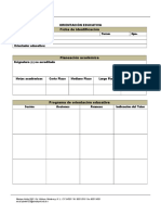 Ficha Identificación y Programa Individual