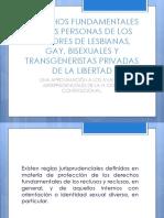 Personas de Los Sectores LGBT Privadas de La Libertad
