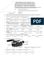 SOAL UTS Menerapkan Teknik Pengambilan Gambar Produksi