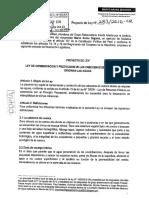 Marco Arana Zegarra_PL 283-2016 Protección de Cuencas