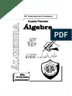 Algebra 4to 4bim 2005