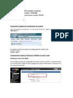 Manual Technicolor TD5336 - VDSL