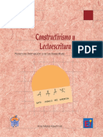 ConstructivismoyLectoescritura