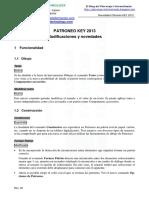 AFT-Novedades Patroneo KEY 2013