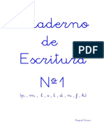 Cuaderno Escritura Nº1