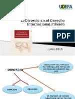 El Divorcio en El Derecho Internacional Privado (1)