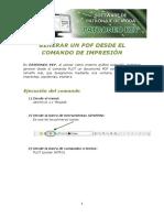 Patroneo Key-generar Un PDF Desde El Comando de Impresion