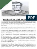 Biografia de José María Vargas