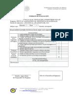 Evaluacion Bimestral( Servicio Social)