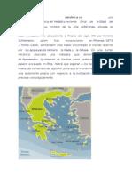 La Civilizacion Micenica y Mapa de Europa