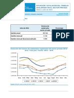 Informe SIPA Julio 2016