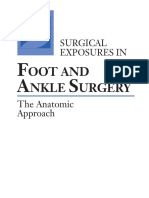 Surgical Exposures in Foot & Ankle Surgery the Anatomic Approach [PDF]