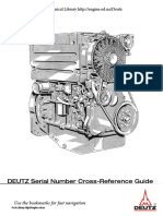 Deutz Engine Model Serial Number
