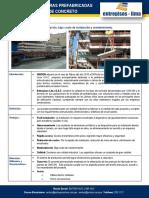 Ficha Técnica Escaleras Prefabricadas Entrepisos Lima - UNICON