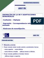 TEMA 1 Anomalías de La VB y Adaptaciones Sensoriales