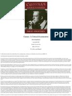David Sprintzen Camus- A Critical Examination 1988