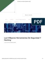 Las 8 Mejores Herramientas de Seguridad y Hacking