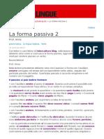 La Forma Passiva 2