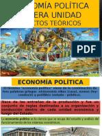 Objeto de La Economía Política