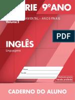 8 Caderno Do Aluno Inglês Vol 2 2014-2017 8S 9A