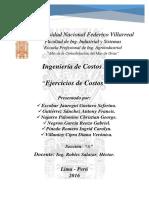 EJERCICIOS DE COSTOS
